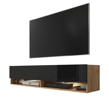 WANDER Meuble TV suspendu 140 cm