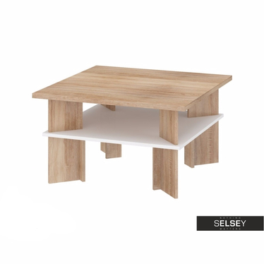 ROSARNO Table basse carrée 85x85 cm