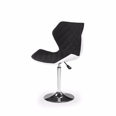 CALL 2 Chaise de bureau enfant blanc / noir