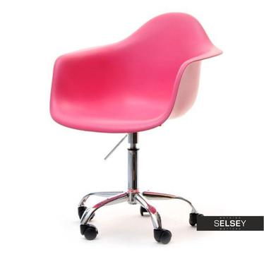 MPA MOVE Chaise pivotante design rose