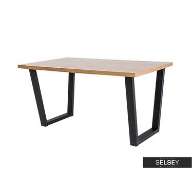 COVELLO Table salle à manger 180x90 cm
