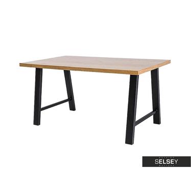 VEDIA Table salle à manger 150x90 cm