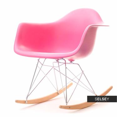 MPA ROC Fauteuil à bascule design rose