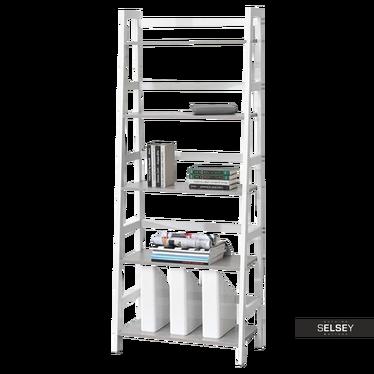 TOWER Étagère échelle blanc / béton