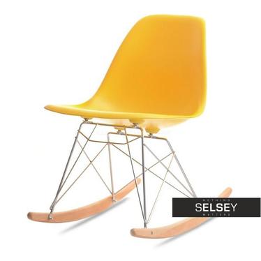 MPA ROC Chaise à bascule jaune