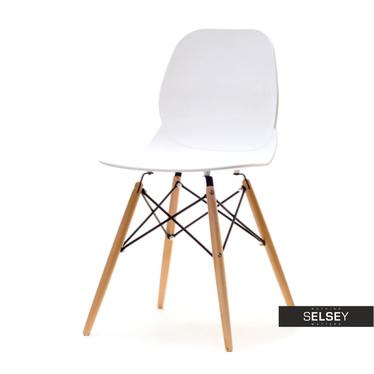 LEAF BOIS Chaise blache