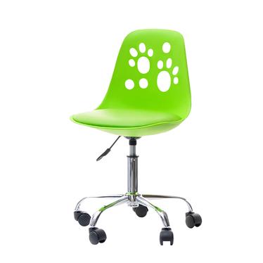 chaise de bureau enfant vert clair