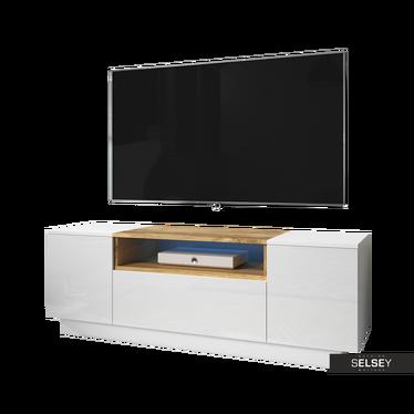OKSFORD Meuble TV 140 cm