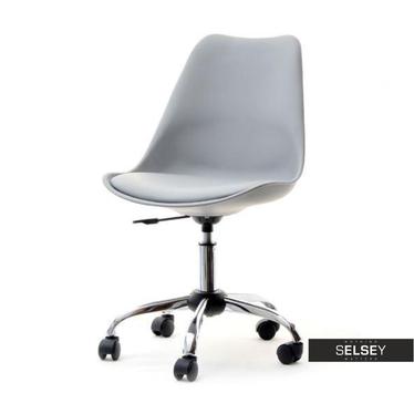 LOUIS MOVE Chaise de bureau grise
