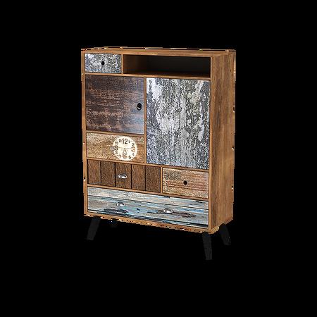 PATCHWORK II Cabinet de rangement vintage