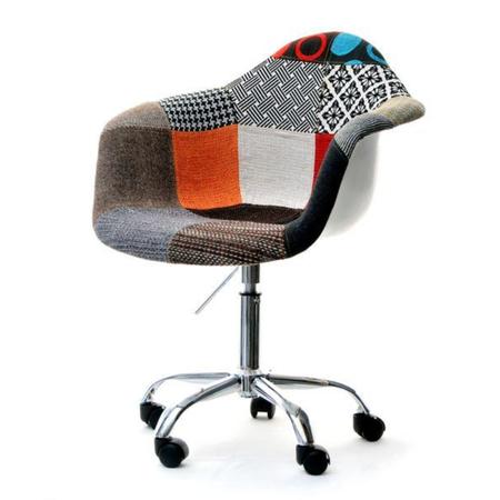 MPA MOVE Chaise pivotante vintage patchwork