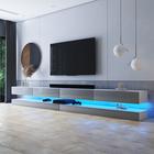 HYLIA DOUBLE Meuble TV suspendu 2x140 cm